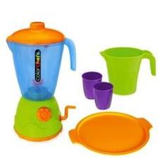 Imagem de Liquidificador Color Chefs Com Acessórios - Usual Brinquedos