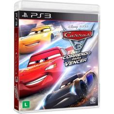 Jogo Carros 3: Correndo para Vencer PlayStation 3 Warner Bros