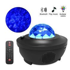 Imagem de Projetor Colorido Galáxia Bluetooth Night Light