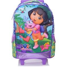 Imagem de Mochila com Rodinhas Escolar Xeryus Dora Boots 4900 G