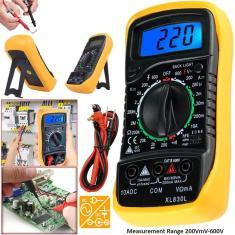 Imagem de Profissional Multímetro digital LCD Testador de voltagem