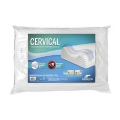 Imagem de Travesseiro Cervical Ortopédico Lavável Fibrasca