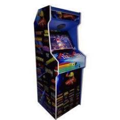Imagem de Máquina Multijogos Retrô 22 Polegadas 5000 Jogos Arcade Fliperama Video Game Adesivada