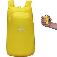 Imagem de Mochila esportiva de viagem Sxgyubt para uso ao ar livre, leve, portátil, impermeável, dobrável, mochila esportiva para montanhismo, bolsa para pele