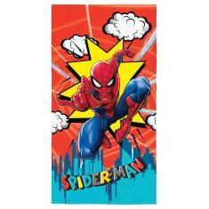 Imagem de Toalha De Banho Infantil Aveludada Transfer Lepper Spider Man