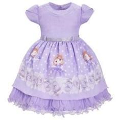 Imagem de Vestido Infantil Princesa Sofia Tema Aniversario 1 Ao