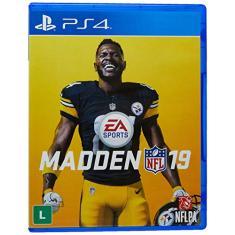 Jogo Madden NFL 19 PS4 EA