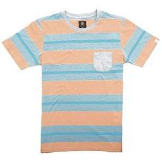 Imagem de Camiseta Element Striped Laranja/
