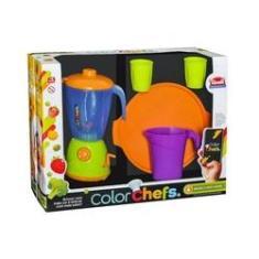 Imagem de Brinquedo Liquidificador Color Chef cu002F Acessórios - 138823