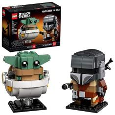 Imagem de LEGO BrickHeadz Star Wars The Mandalorian & The Child 75317 Building Kit - New 2020 (295 Pieces)