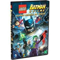 Imagem de DVD - Batman Lego - O Filme: Super Heróis Se Unem