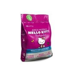 Imagem de Areia Higiênica Para Gato - Hello Kitty Bio Fina  - 2Kg