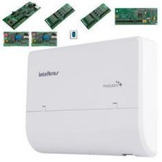 Central Telefonia PABX Intelbras 4 Linha 12 Ramal Dect Disca