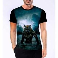 Imagem de Camiseta Camisa Lobisomem Licantropo Homem Lobo Terror 5