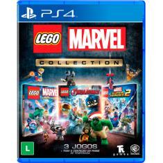 Jogo Lego Marvel Collection PS4 Warner Bros