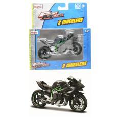 Imagem de Moto Kawasaki H2R - 2 Wheelers - Fresh Metal - 1/18 - Maisto
