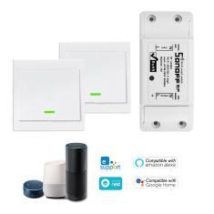 Imagem de 1PCS sonoff rf Wifi interruptor de rf 433MHz Compatível com Alexa 01 #