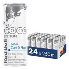 Imagem de Energético Red Bull Energy Drink, Coco e Açaí 250ml 24 latas