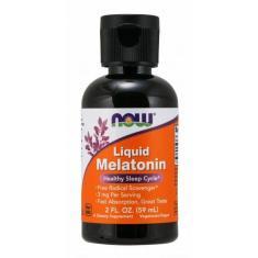Imagem de Melatonina Liquida 3Mg 59Ml - Now Foods