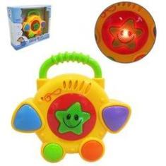 Imagem de Bateria Musical Infantil Baby Rock Star Colors Com Luz A Pil