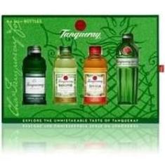 Kit Gin Tanqueray 4 Miniaturas 50ml
