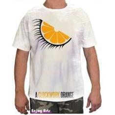 Imagem de Camiseta Camisa Masculina Orange Laranja Mecanica 7