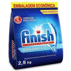 Imagem de Finish Detergente em Pó Para Lava Louças Advanced, 2,5kg