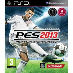 Jogo Pro Evolution Soccer 2013 PlayStation 3 Konami