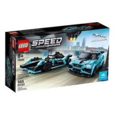 Imagem de Lego Speed Champions Jaguar Racing Gen2 Car & Jaguar 768978