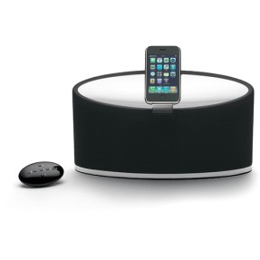 Dock Station com Caixa de Som Integrada Bowers and Wilkins Controle Remoto Zeppelin Mini