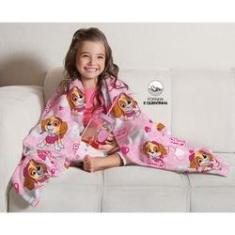 Imagem de Cobertor Manta Infantil Patrulha Canina Menina - Lepper