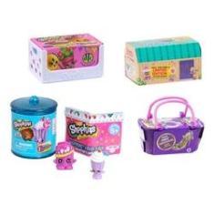 Imagem de Shopkins Super Kit Com 4 Cestinhas Séries Variadas