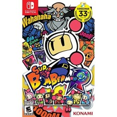 Jogo Super Bomberman R Konami Nintendo Switch