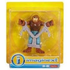 Imagem de Boneco Imaginext Miniatura Lobisomem Preso - FHL79 Mattel
