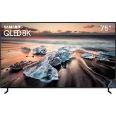 """Smart TV QLED 75"""" Samsung 8K HDR QN75Q900RBGXZD 4 HDMI"""
