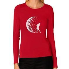 Imagem de Tstars - Camiseta feminina de manga comprida com jogador de golfe para golfistas, , XXL