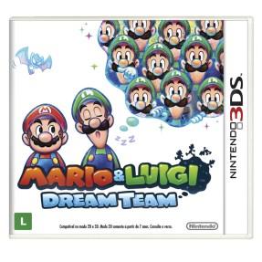 Jogo Mario & Luigi Dream Team Nintendo 3DS