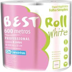 Imagem de Papel Higienico BEST ROLL Folha Simples 600M