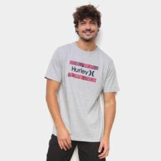 Imagem de  Camiseta Hurley Free Flower Masculina
