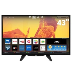 "Smart TV LED 43"" AOC Full HD LE43S5760 3 HDMI"