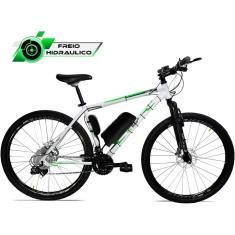 Imagem de Bicicleta Elétrica TecBike 21 Marchas Aro 29 Suspensão Dianteira a Disco Hidráulico Tec Ultra 3.0 350w