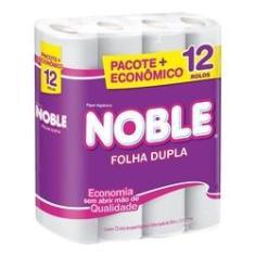 Imagem de Papel Higiênico Folha Dupla Noble 12 Rolos Promoção