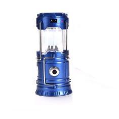 Imagem de Lampião E Lanterna Led 2 Em 1 Recarregável Solar e Energia Com Saída Usb