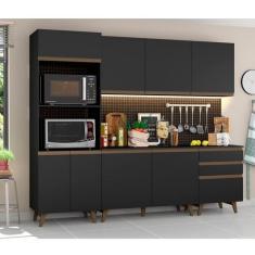 Imagem de Cozinha Completa 3 Gavetas 8 Portas Reims Madesa