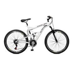 Bicicleta Master Bike 21 Marchas Aro 26 Suspensão Full Suspension Freio V-Brake Totem 26062