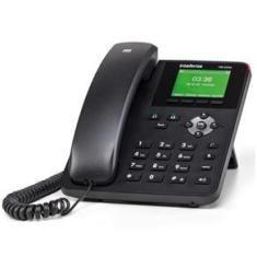 Telefone Ip Intelbras C/ Fio 2 Contas Sip Interface Gigabit Poe Tip-235G