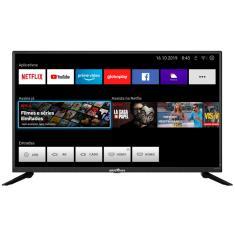 """Smart TV LED 39"""" Britânia BTV39G60N5CH 2 HDMI USB"""