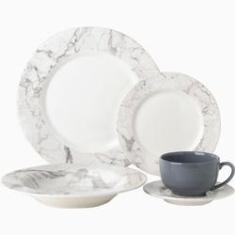 Imagem de Aparelho de Jantar Carrara  20 Peças - La Cuisine