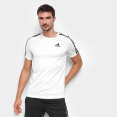 Imagem de Camiseta Adidas Designed to Move Sport 3 Listras Masculina