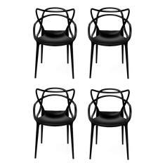 Imagem de Cadeira Allegra  - kit com 4